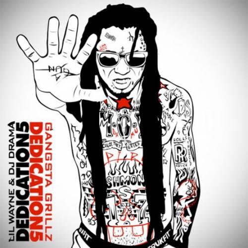 Lil Wayne и обложка для Dedication 5